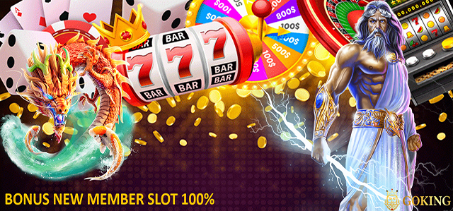 HOME BONUS SLOT 100%